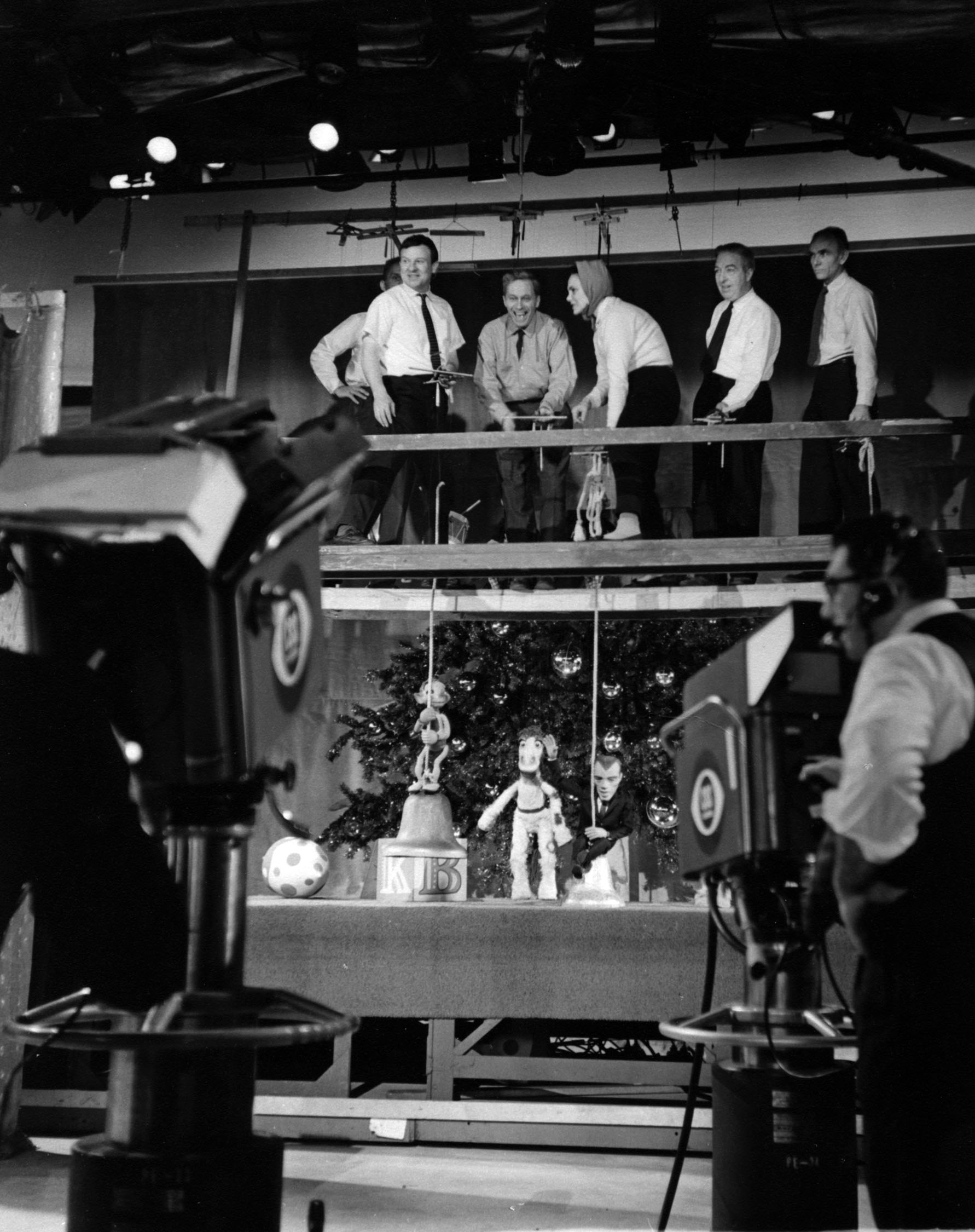 The Ed Sullivan Show puppet stage