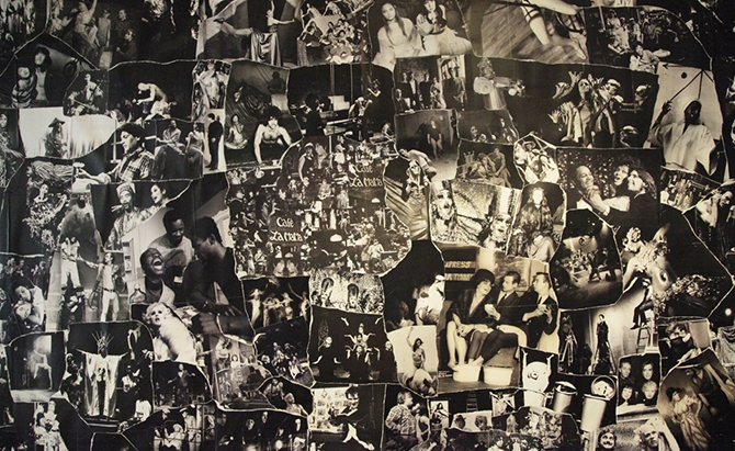 Collage of images from La MaMa Experimental Theatre Club