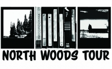 Logo for North Woods Tour.